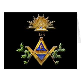 Masonic Life Card