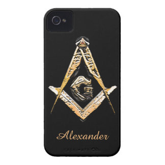 Masonic Minds (Yellowish) iPhone 4 Cover