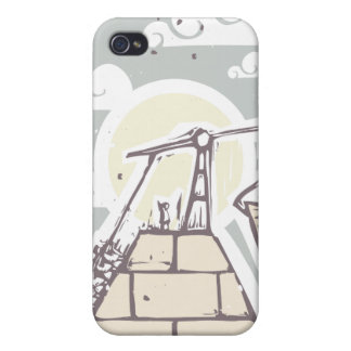 Masonic Pyramid Construction B Cases For iPhone 4