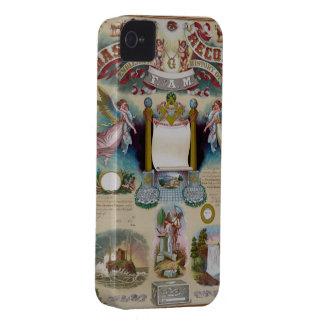 Masonic Record iPhone 4 Case-Mate Cases
