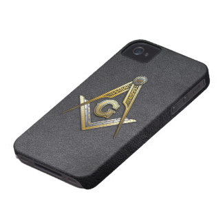 Masonic Square and Compasses iPhone 4 Cases