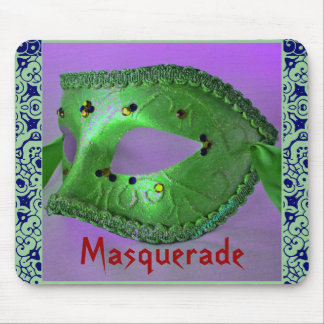 """Masquerade"" Mousepad- Customizable Mousepad"