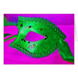 """Masquerade Party"" Card - Customizable Cards"