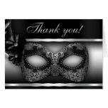 Masquerade Party Thank You Note