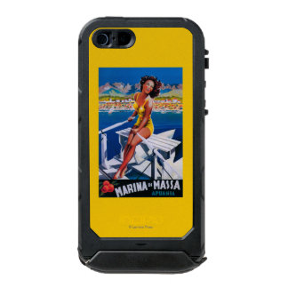Massa Marina Travel Poster Incipio ATLAS ID™ iPhone 5 Case