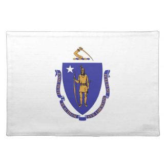 Massachusetts Flag American MoJo Placemat