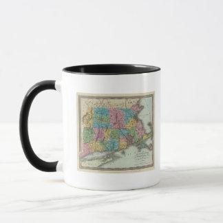 Massachusetts Rhode Island And Connecticut Mug