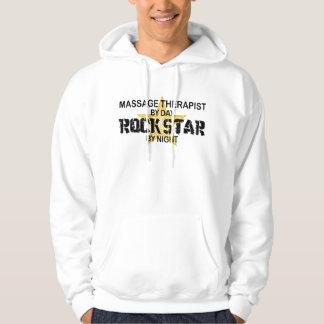 Massage Therapist Rock Star Hoodie