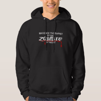 Massage Therapist Zombie Hoodie