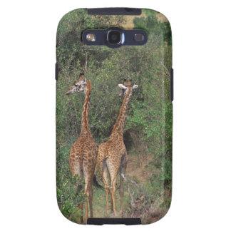 Massai Giraffe 3 Galaxy S3 Case