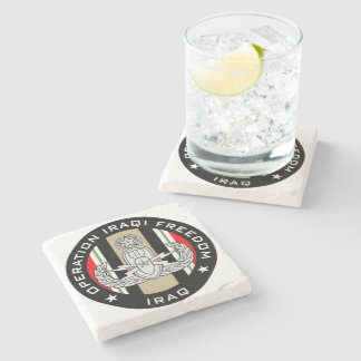 Master EOD OIF Stone Coaster