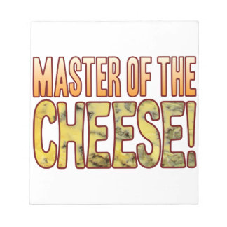 Master Of Blue Cheese Notepads
