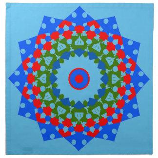 Masterful Mandala Cloth Napkins