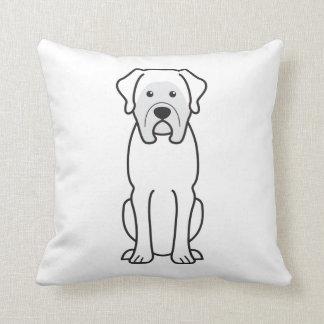 Mastiff Dog Cartoon Cushion