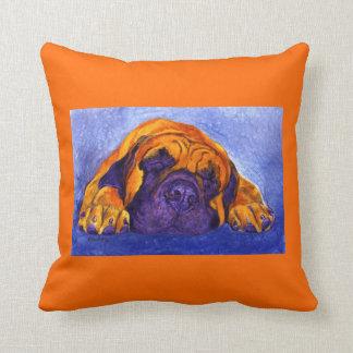 """Mastiff Pillow - """"Brutus"""""""