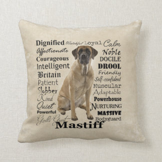 Mastiff Traits Pillow