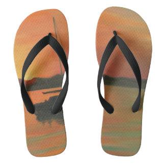 MATANZAS SUNRISE Flip Flops