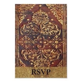 Matching RSVP Vintage Antique Book Image Announcements