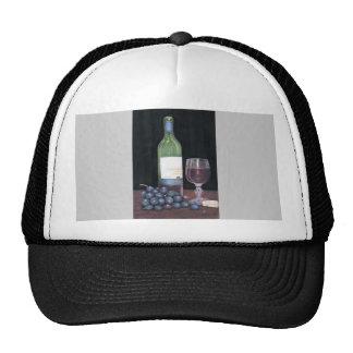 Matching Wine Art Hat