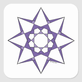 Materialization Square Sticker