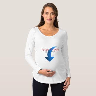 Maternity Future Firefighter Maternity T-Shirt