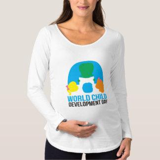 Maternity long sleeve tee shirt