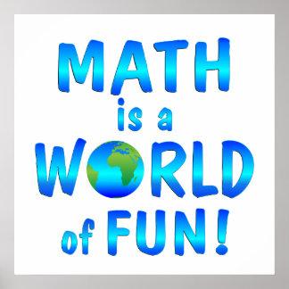 Math Is Fun Posters, Math Is Fun Poster Designs