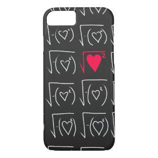 Math geek romance: find real love iPhone 7 case