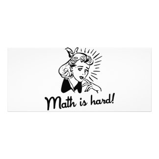Math is Hard Rack Card