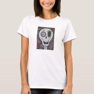 """Matilda"" Day of the Dead Ladies Skull T-Shirt"