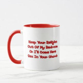 Mating In Your Church Mug