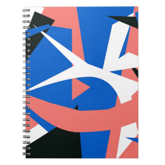 MatissianAbstract Spiral Notebook