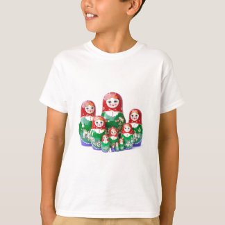 Matryoshka - матрёшка (Russian Dolls) T-Shirt