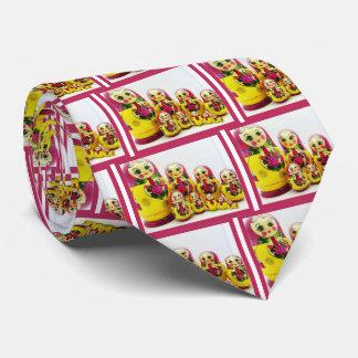 Matryoshka Dolls Tie
