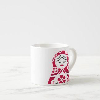 matryoshka mini mug espresso mug