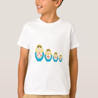 Matryoshka Russian Nesting Dolls T-Shirt