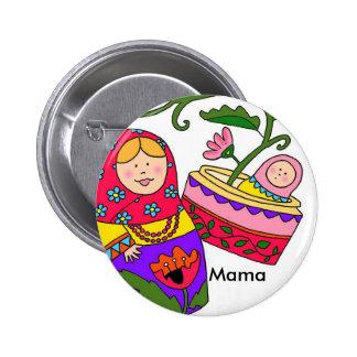 Matryoshka's Baby New Mom Buttons
