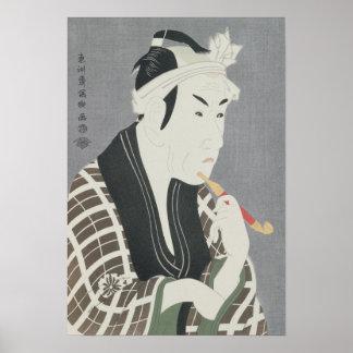 Matsumo Koshiro IV in the Role of Gorebei Poster