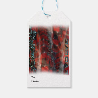 Matte Gift Tag EVOLVE TEXT GRAPHIC