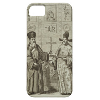 Matteo Ricci (1552-1610) and Paulus Li, from 'Chin Case For The iPhone 5