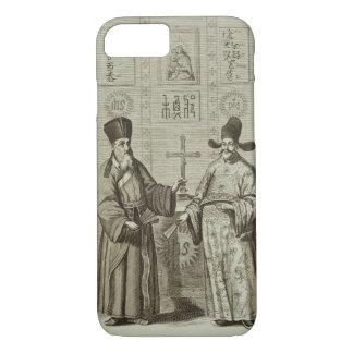 Matteo Ricci (1552-1610) and Paulus Li, from 'Chin iPhone 8/7 Case