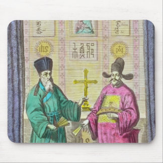 Matteo Ricci  and another Christian Mouse Pad