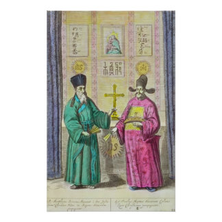 Matteo Ricci  and another Christian Poster