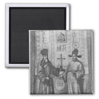 Matteo Ricci  and Paulus Li Magnet