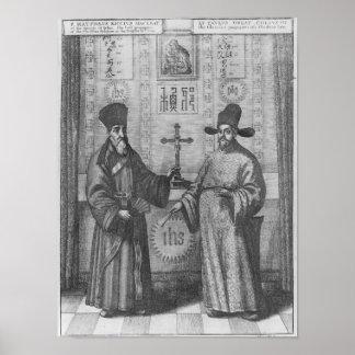 Matteo Ricci  and Paulus Li Poster