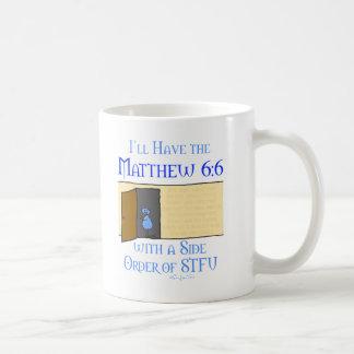 Matthew 6:6 mugs