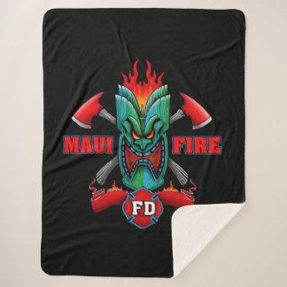 Maui Fire Department Sherpa Blanket