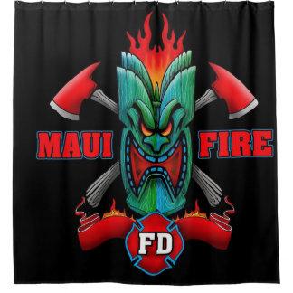Maui Fire Shower Curtain