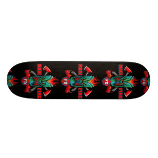 Maui Fire Skateboard