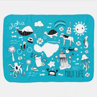 """""""Maui Life Allstars"""" Baby Blanket"""